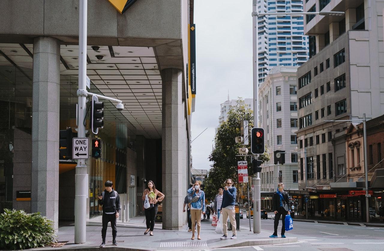 people walking on pedestrian lane 4019405